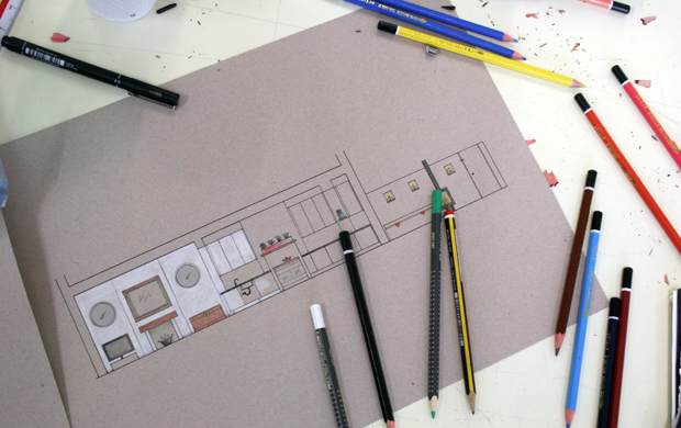 Chelsea College Of Art And Designs Interiors Course Module One