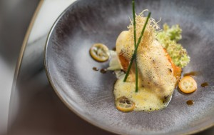 'An out-of-this-world baked Chilean sea bass with kumquat glaze'