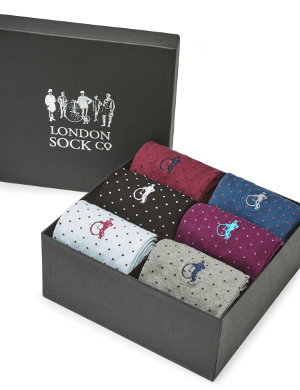 4. Spot of Style 6-Pair Gift Box, £79