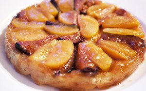 Fig and Pear Tatin