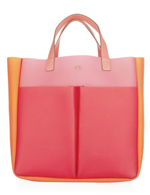 Anya Hindmarch Nevis color-block rubber tote