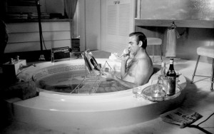 Sean Connery in the bath, Terry O'Neill