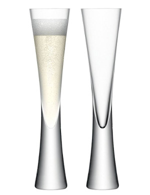 Champagne flutes glasses coupes