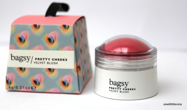 Bagsy Pretty Cheeks Velvet Blush Review in Velvet Rose